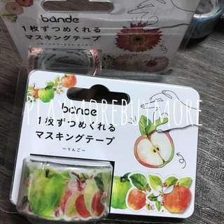 bande-日本購-蘋果花組貼紙