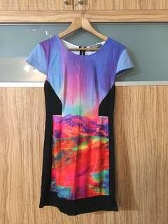 Indikah Colourful dress