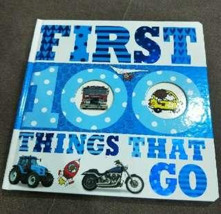 🚚 First 100 things that go