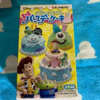 Toy Story Re ment Birthday cake