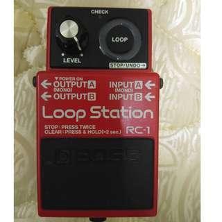 Boss Loop Station ( RC-1)