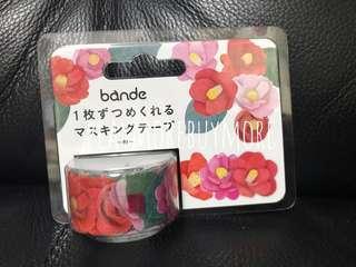 bande-日本購-椿花貼紙