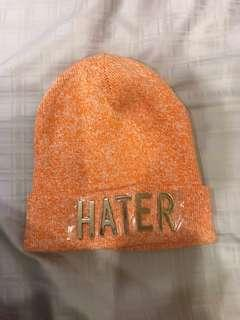 潮牌Hater混色針織帽