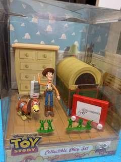 Toy Story Woody 情境Figure