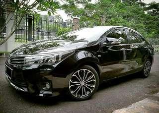 Toyota Corolla Altis 1.8 V AT 2014 Dp 38jt