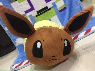 寵物小精靈Pokemon 伊貝公仔 攬枕