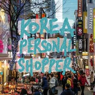 korea personal shopper [apr/ may]