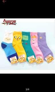 Adventure Time designed socks / Character socks / Cartoon characters socks