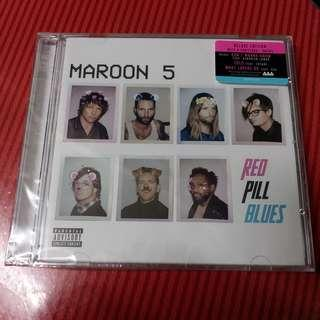 MAROON 5 Red Pill Blues 港版 Deluxe Edition 2 CD 全新未拆
