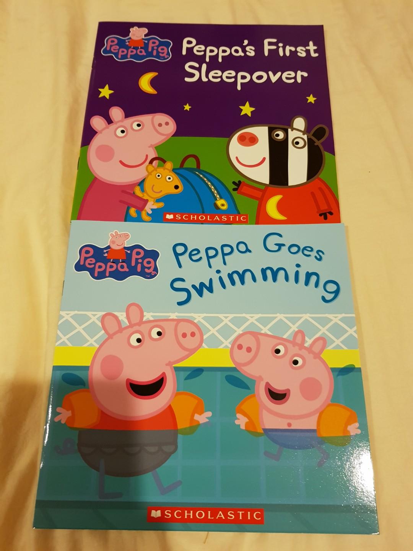 2 X Peppa Pig Books