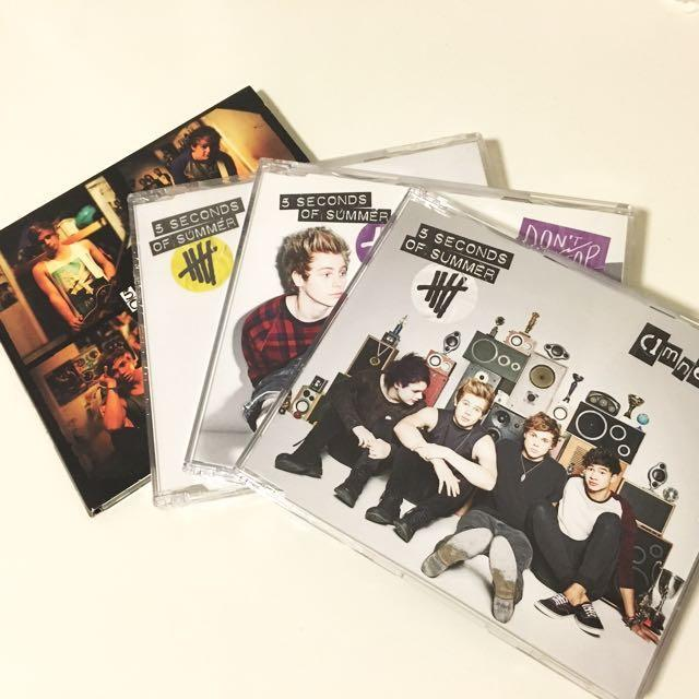 5 Seconds of Summer Albums