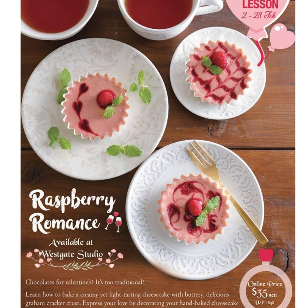 ABC Cooking Studio Trial Class (February 2019): Raspberry Cheesecake / Chocolate Muffin