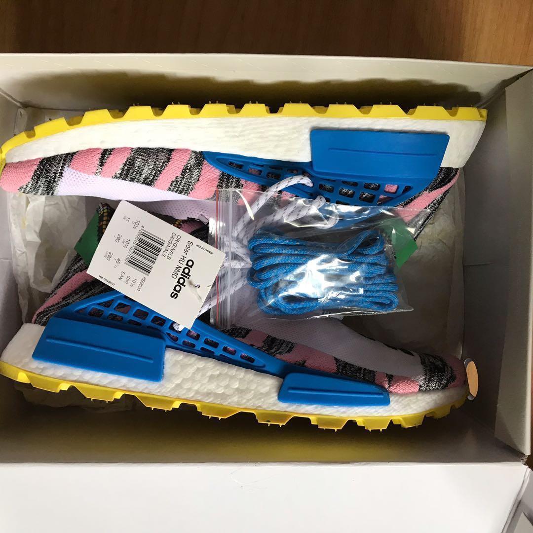 37e7e0cbbd10b Adidas originals Pharrell William solar Hu nmd us11 motherland ...