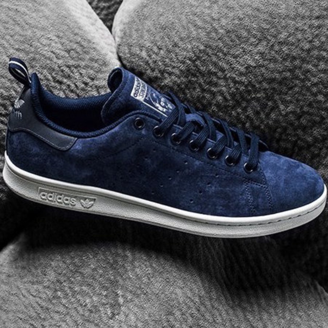 adidas stan smith zwart suede