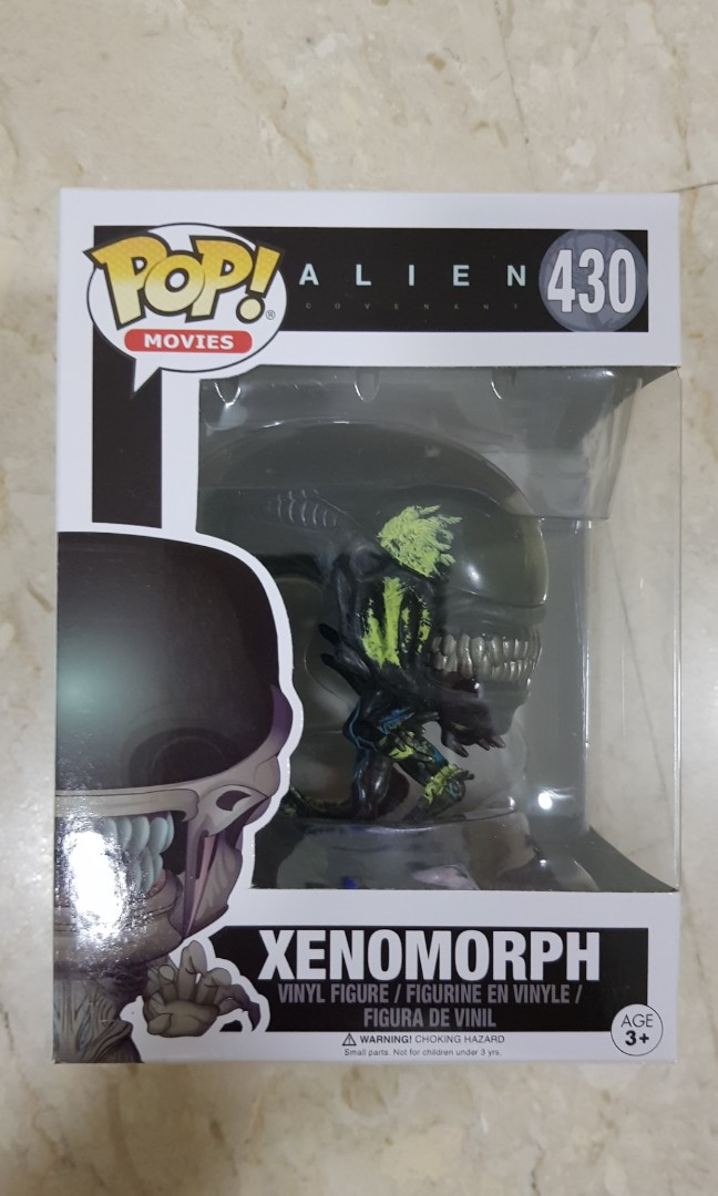 Alien Covenant Xenomorph Funko Pop Vinyl Figure 430 Brand New