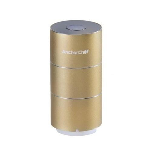 AnchorChefMini 2 迷你抽真空機壓縮收納神器USB充電金色