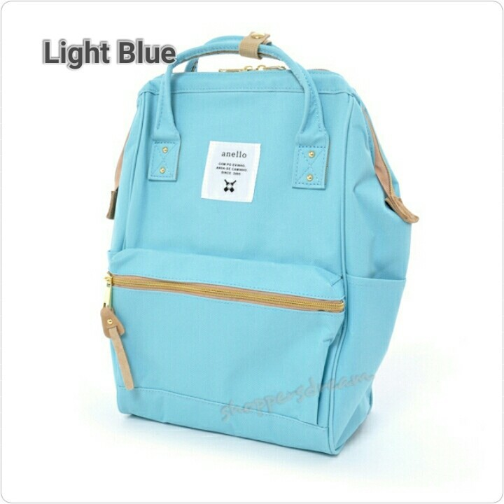 777b300c43f Anello Polyester Canvas Backpack AT-B0193A - Light Blue, Women's ...