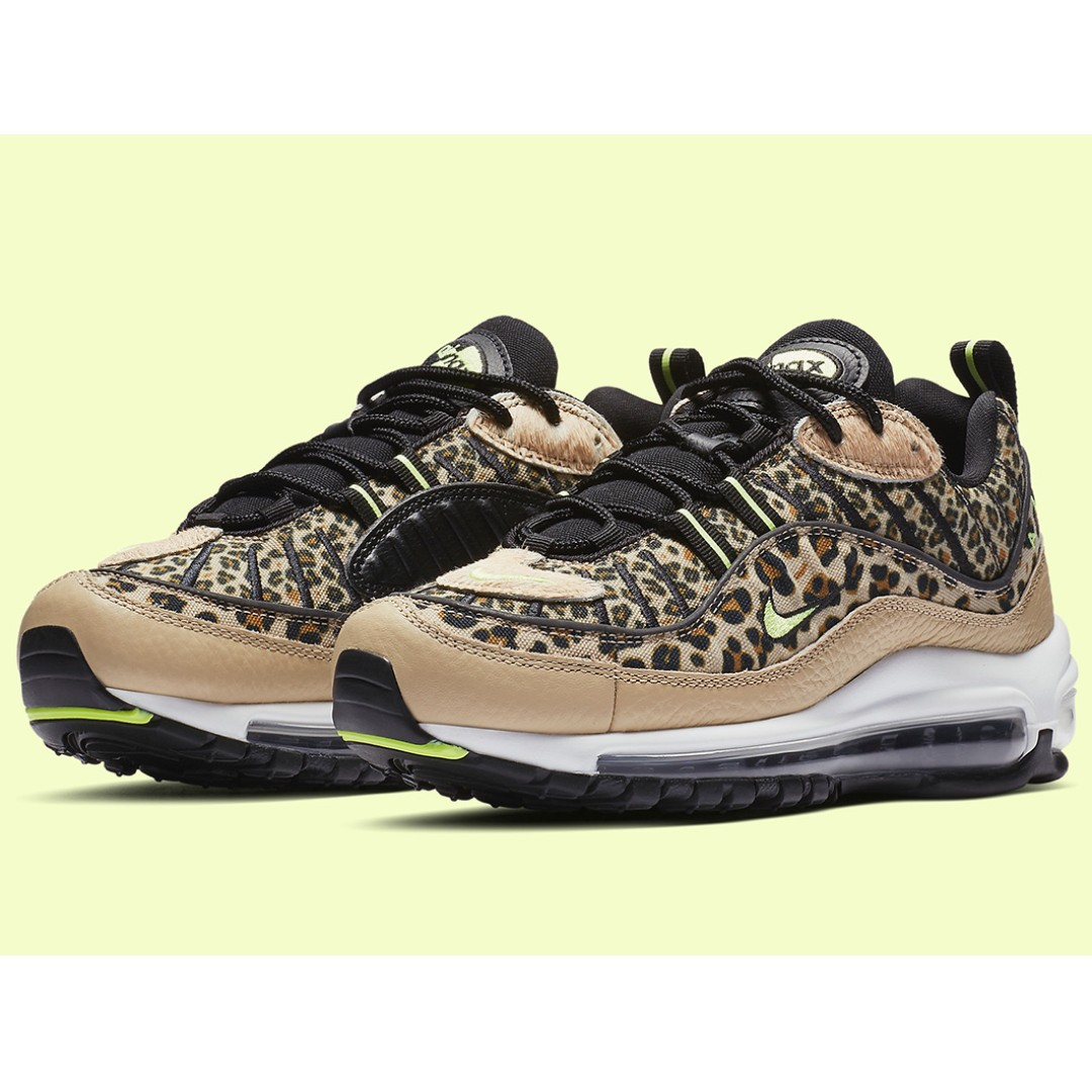 da869cac3c Authentic Nike Air Max 98 Leopard Prints, Women's Fashion, Shoes ...