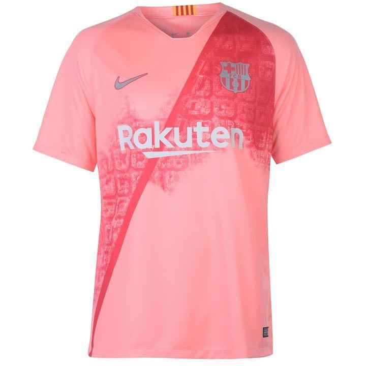 4269d01d649 Barcelona 3rd kit pink jersey
