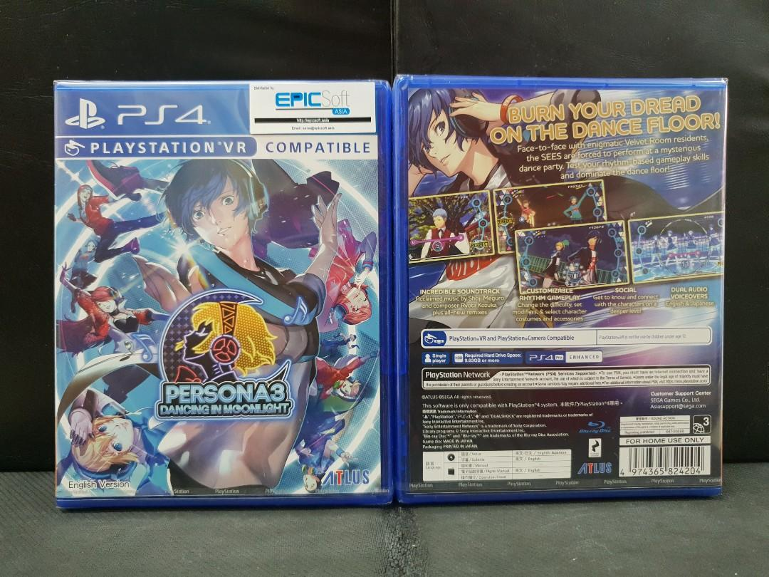 BN] PS4 Persona 3 Dancing In Moonlight (Brand New), Toys