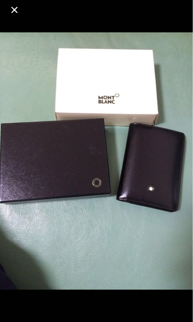Brand New Mont Blanc card holder wallet  200 4c0ad43d5945c