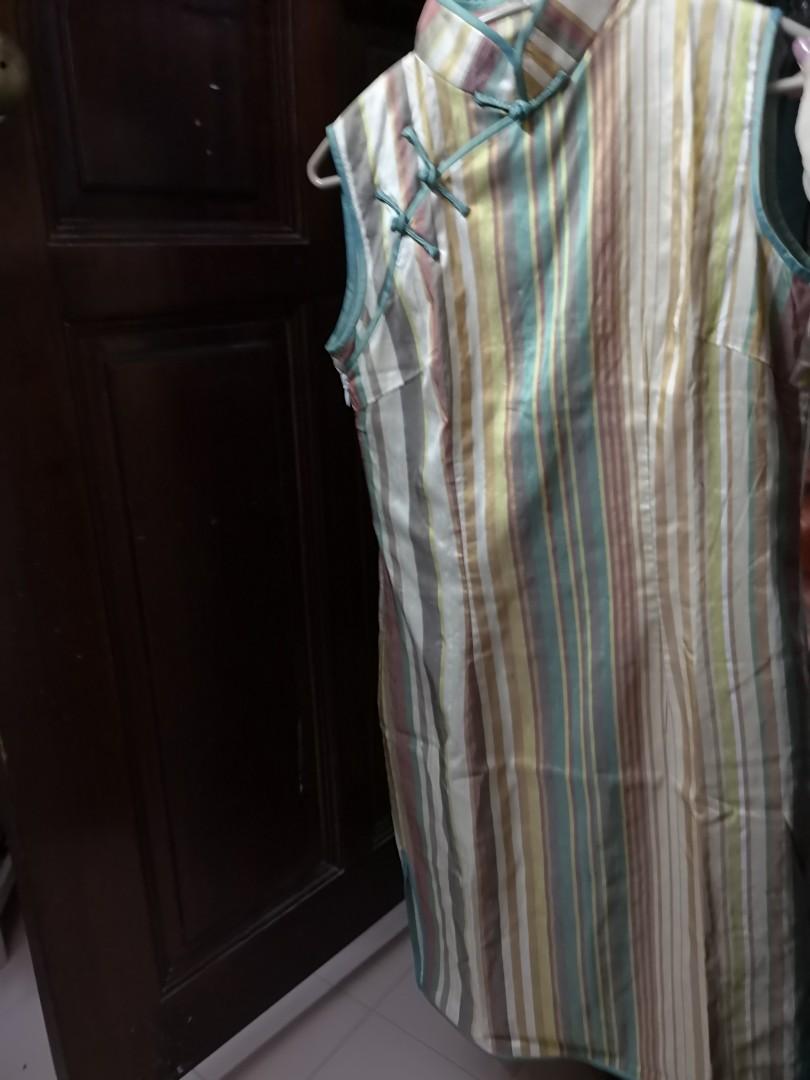 d964015766a6d Brand new soft Thai silk Cheongsum