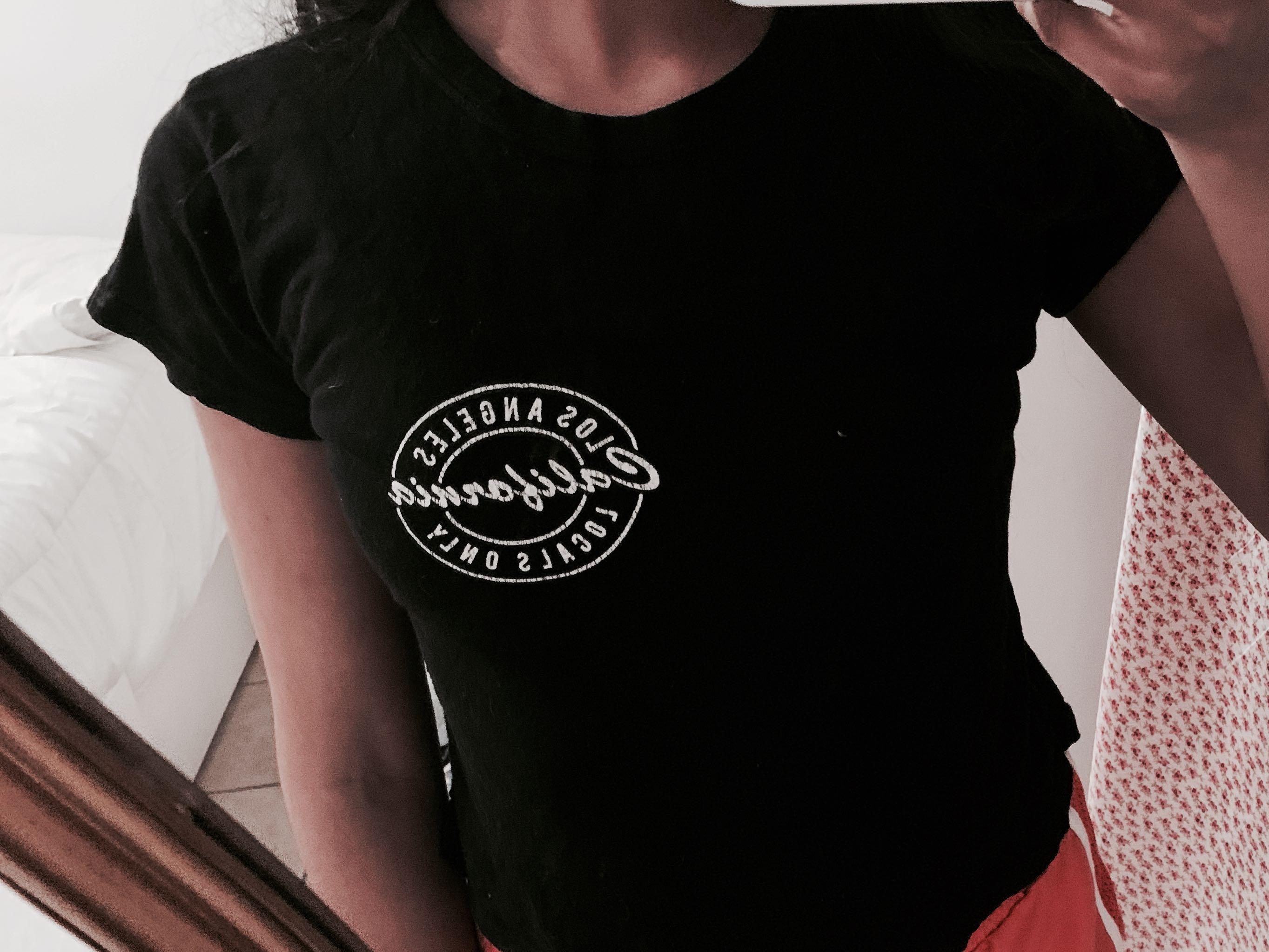 Brandy Melville LA shirt