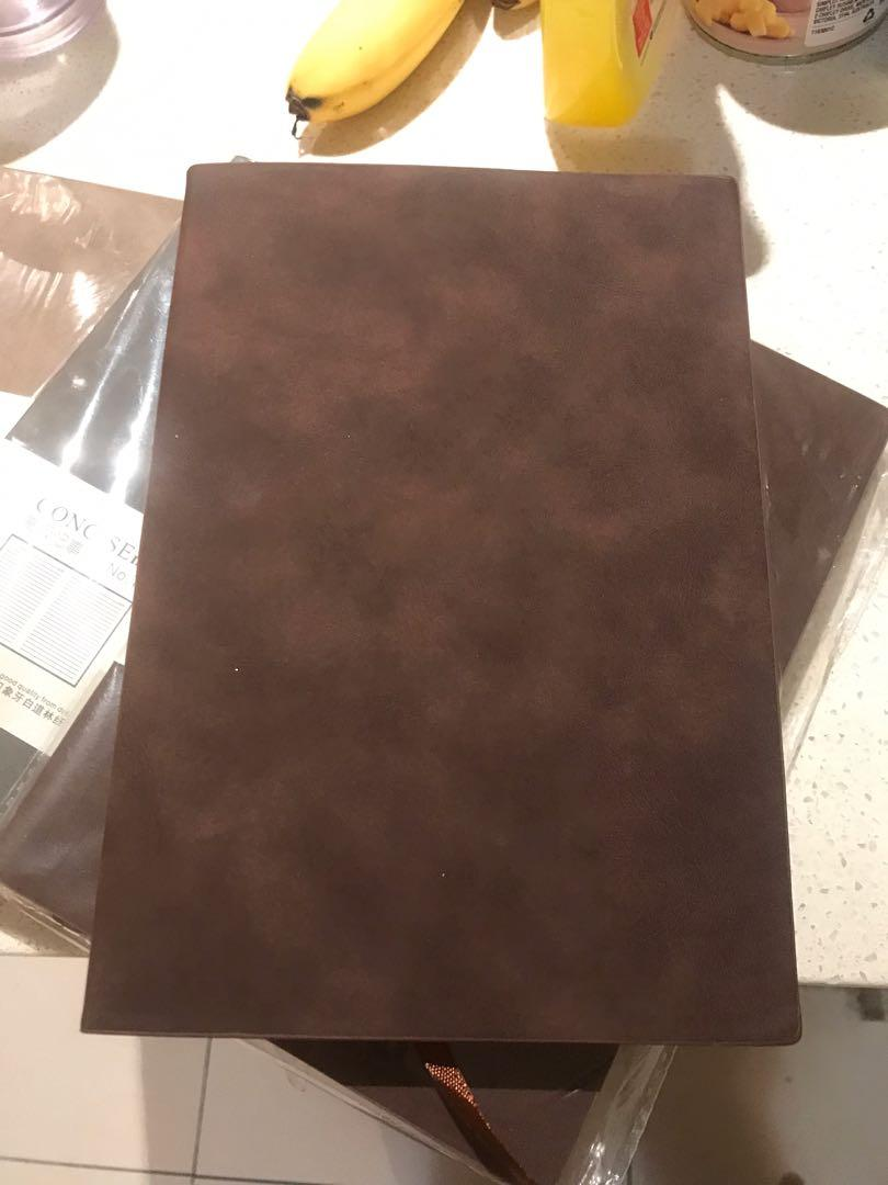 Buy two get two free $10 each concise notebook with innovate design and good quality
