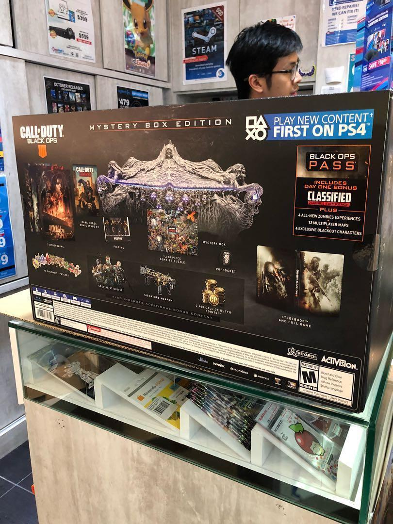 Call of Duty Black Ops 4 Mystery Box edition, Toys & Games