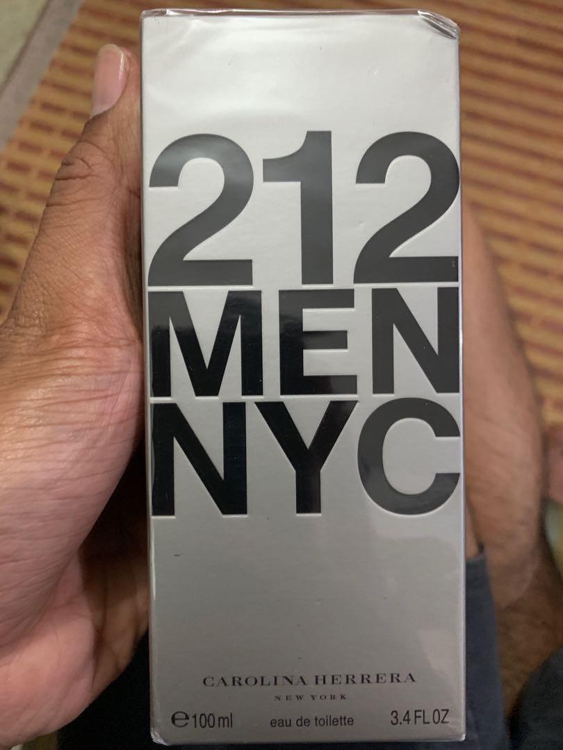 16571a16e Carolina Herrera 212 Men NYC