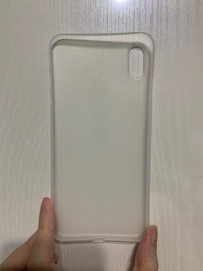 new style 5cf68 e1e4b Caudabe Veil XT iPhone XS Max(Frost)