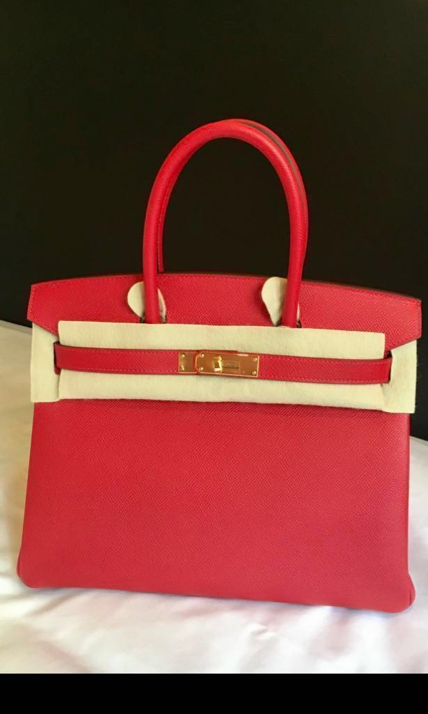 CNY SALE! Hermes Birkin 30 rouge casaque epsom  b4137f75ebf7f
