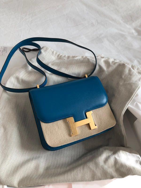 368986de2e61 CNY sale! Lowest price HERMES Constance 18 blue Izmir GHW