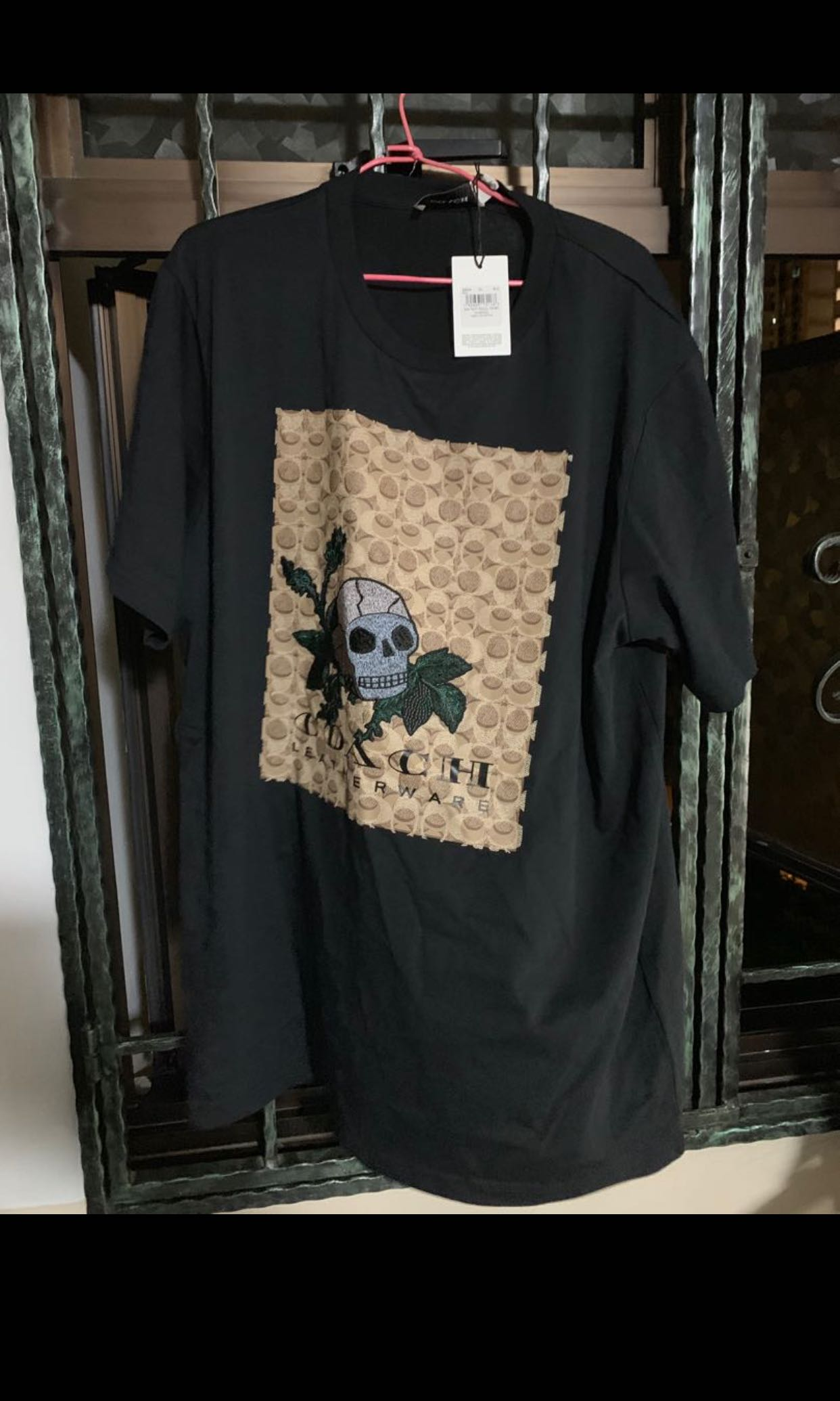 0d760744bb4870 Coach Skull T-Shirt, Men's Fashion, Clothes, Tops on Carousell