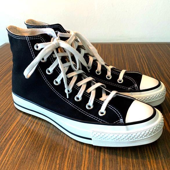 ec0bf4f8556a Converse Chuck Taylor All Star J Hi Black Size 7.5 Made in Japan ...