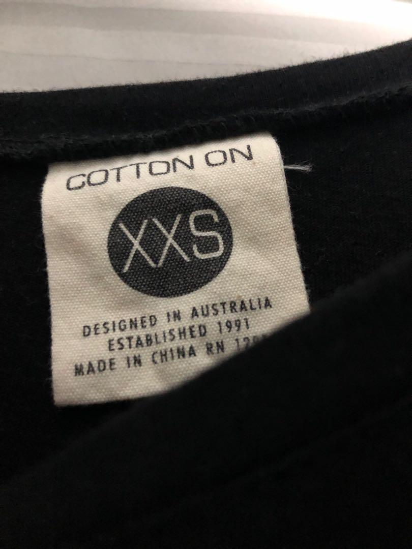 Cotton on sleeveless sporty tee