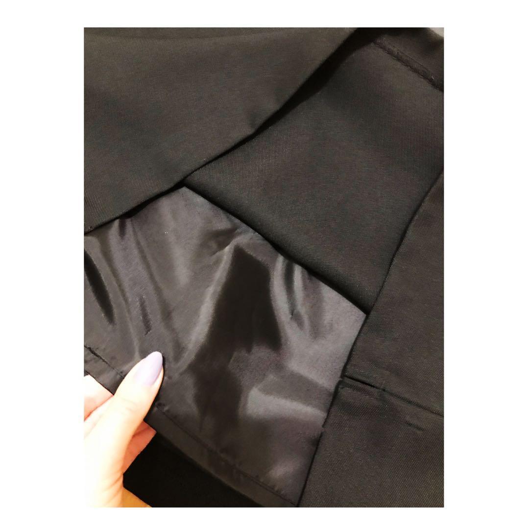 Designer Straight Skirt size L