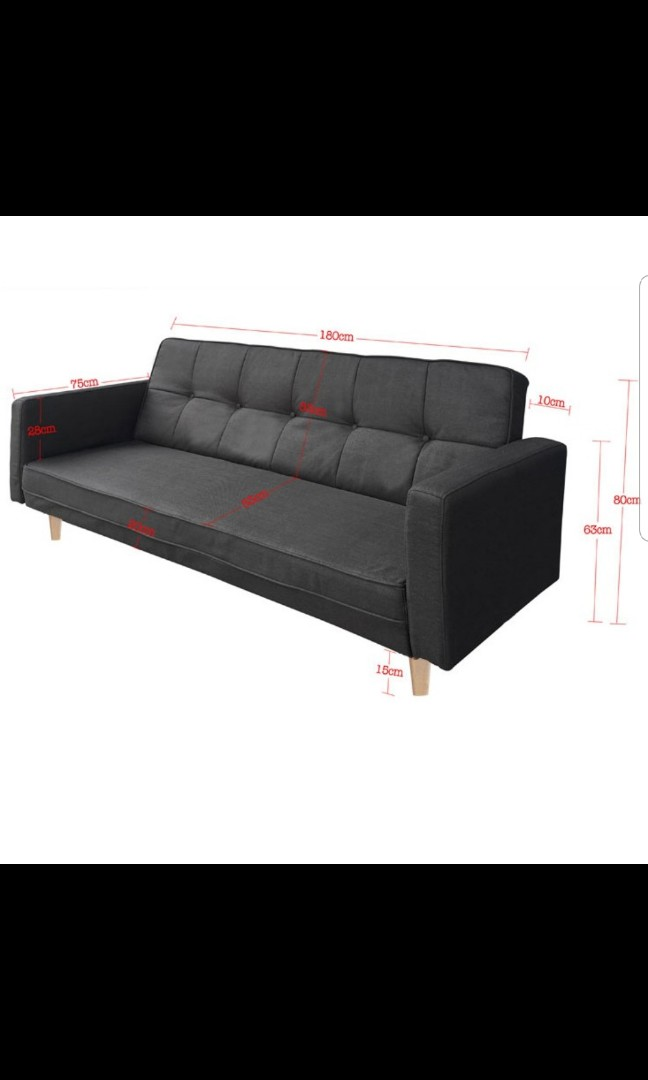 Free Delivery Fabric Sofa Couch Furniture Sofas On Carousell