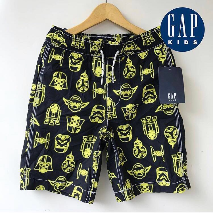 49d21a7958 Gap Kids Boys Star Wars Stormtrooper Swim Trunks Shorts, Babies ...