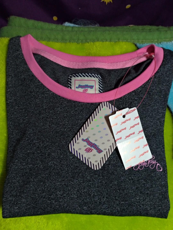 JagThug Women's Shirt Pink&Gray