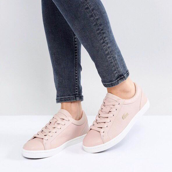 Straightset Lacoste Sneaker Woman Pink Chaussures 1FK3Tc5ulJ