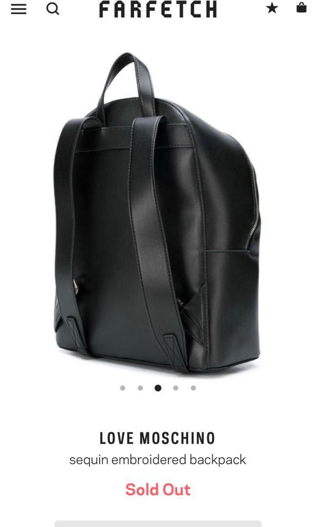 e584fc90ab7 Love Moschino Backpack