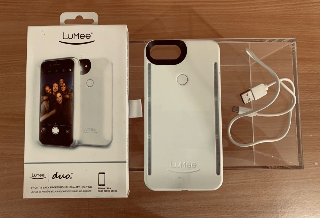 quality design cabe5 7ac8d Lumee iPhone 7 Plus lighting case