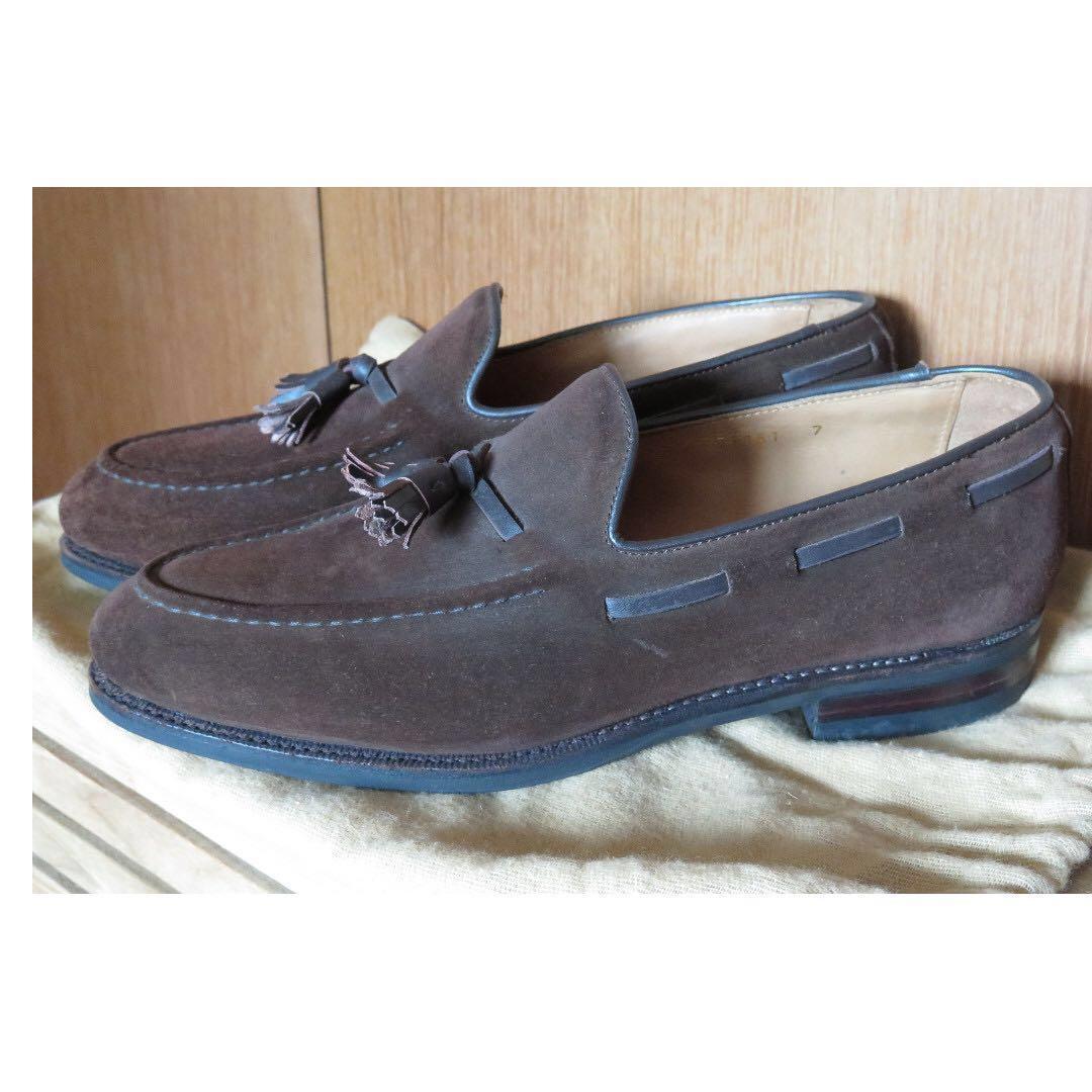 4e124fe7c73 Meermin suede tassel loafers