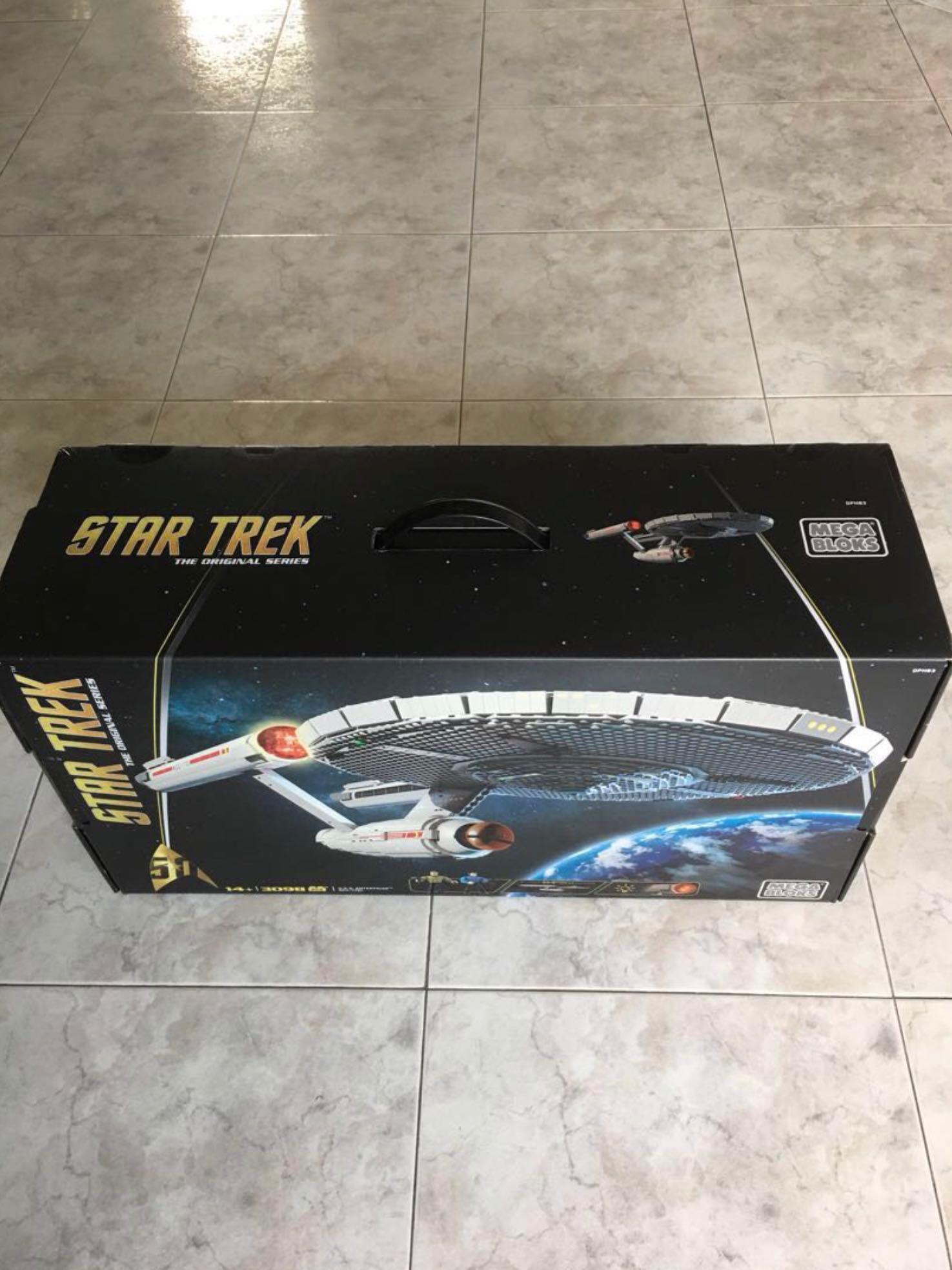 Enterprise Ncc-1701 Collector Construction Set New Mega Bloks Star Trek U.s.s