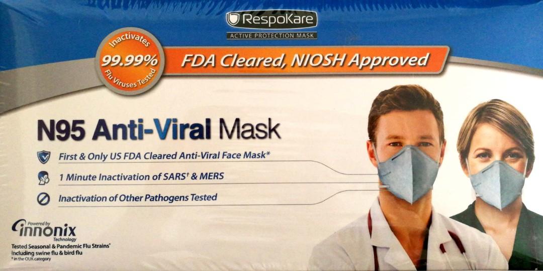 n95 anti virus mask