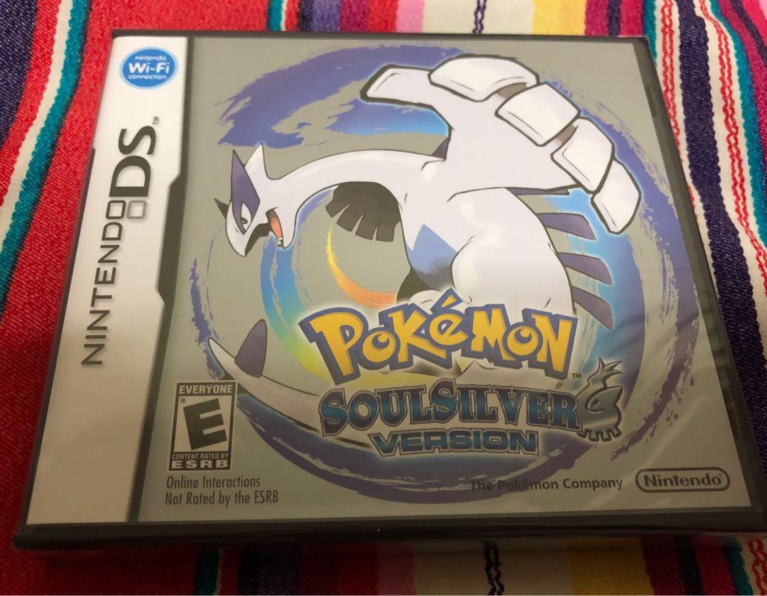 NEW SEALED Pokemon Soulsilver DS Soul Silver RPG Game 3DS