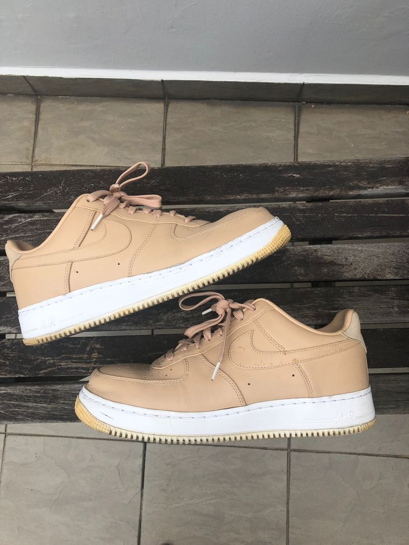 pretty nice 8e092 4497c Nike AF1 Vachetta tan, Men s Fashion, Footwear, Sneakers on Carousell