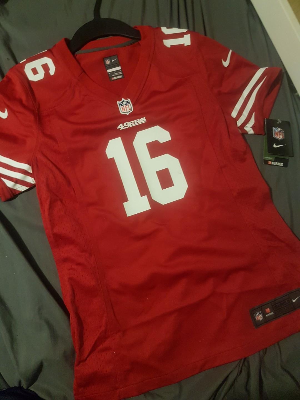 4cc9fcdbd Nike NFL joe Montana on field jersey, Sports, Athletic & Sports ...