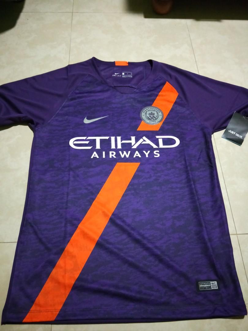 info for a2978 69eeb Nike Manchester City 3rd Kit 2018/19, Sports, Sports Apparel ...